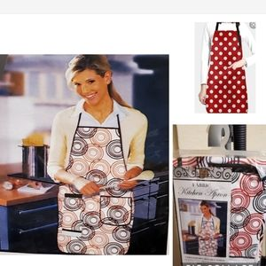 Chef apron with attached towel NEW